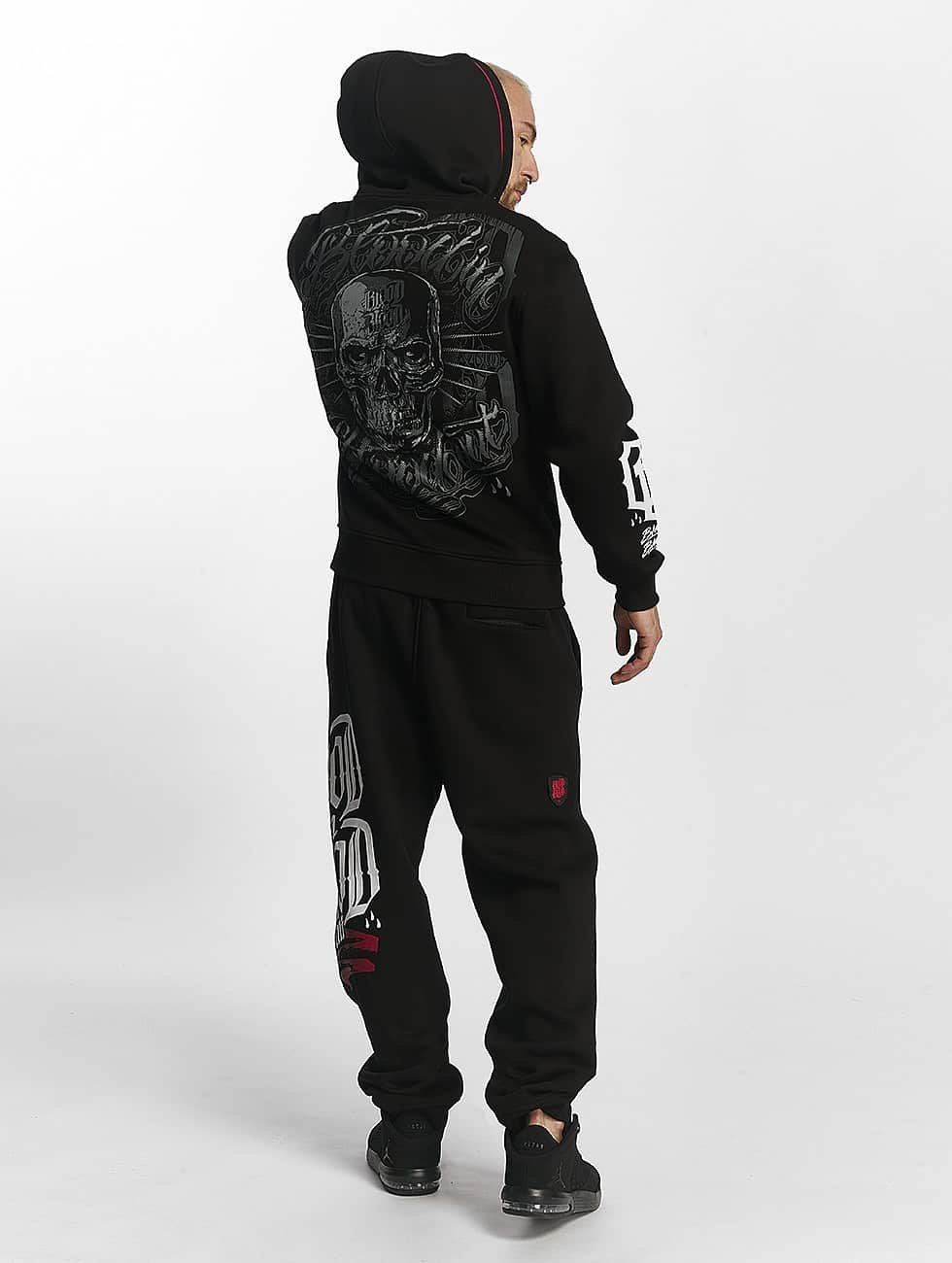 Blood In Blood Out Sudaderas con cremallera Infernal negro