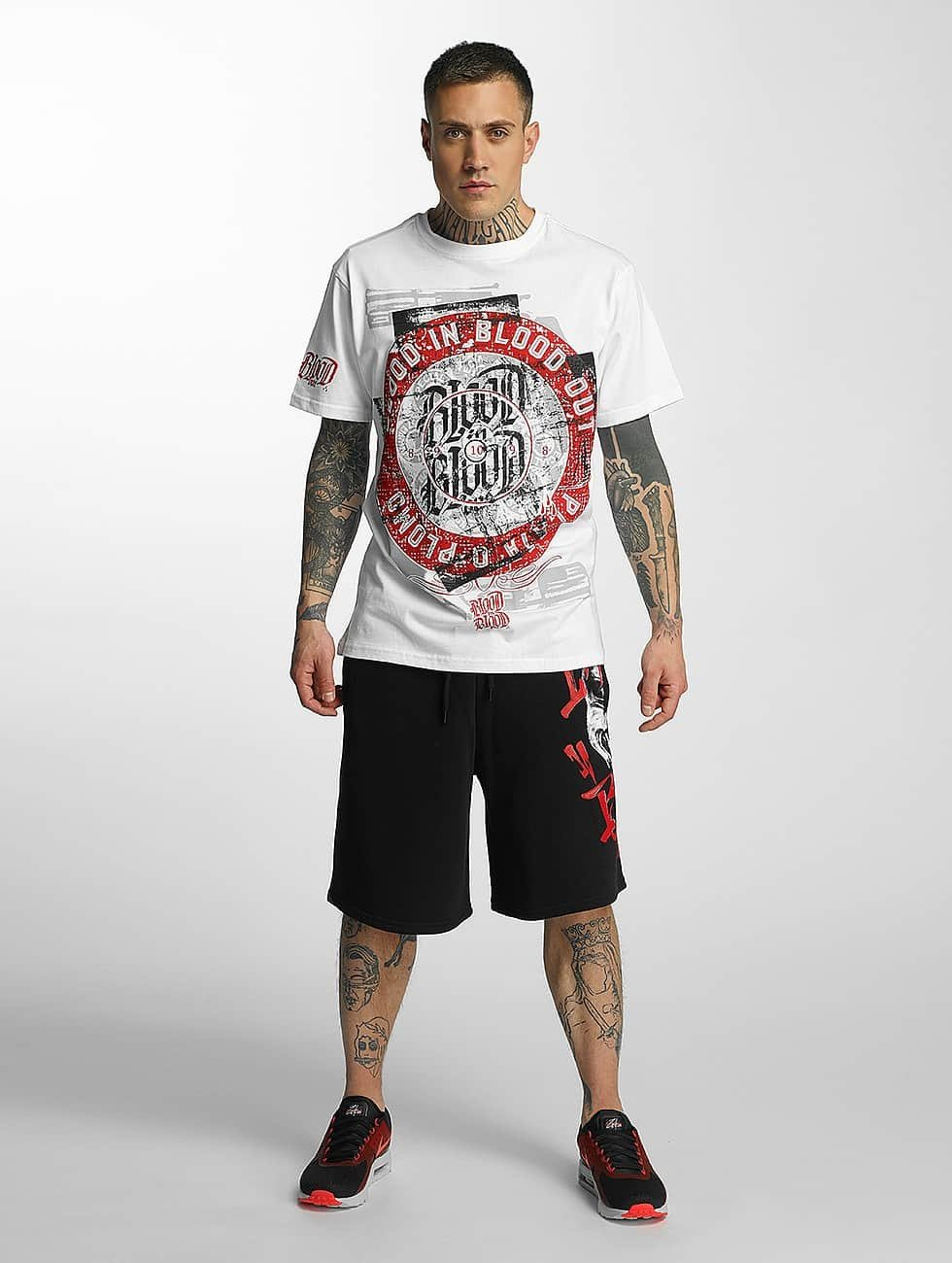 Blood In Blood Out T-Shirt Out Plata O Plomo blanc