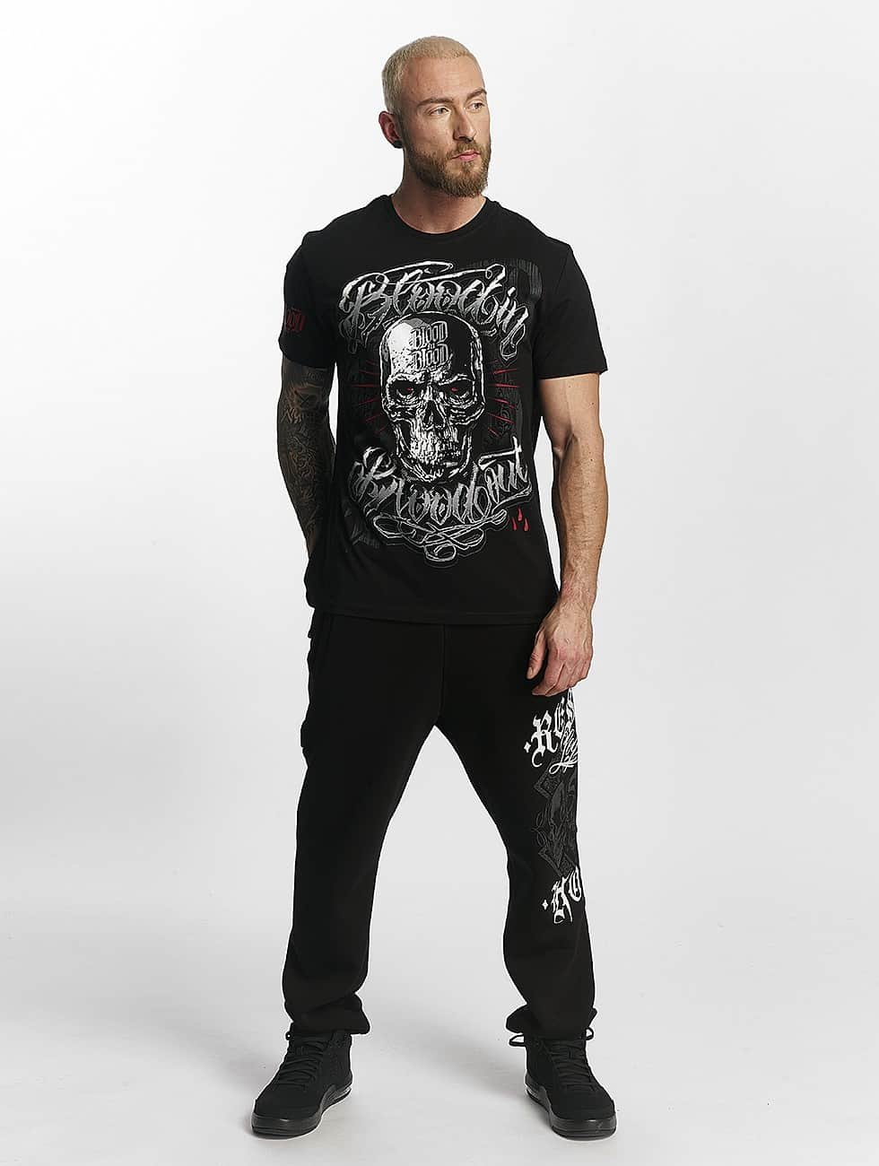 Blood In Blood Out T-shirt Infernal svart