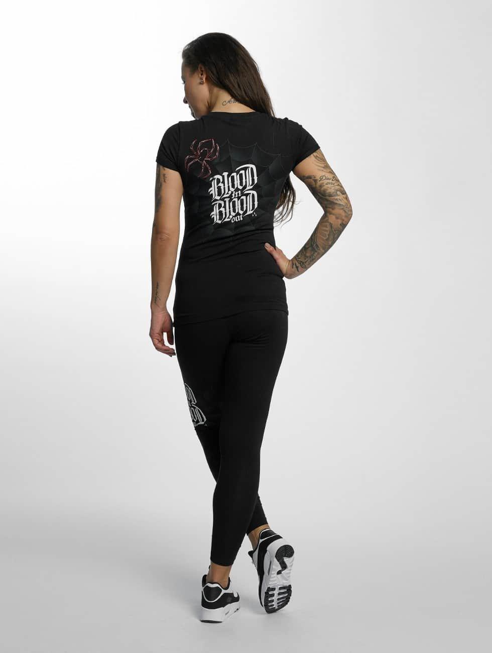 Blood In Blood Out t-shirt Ranio Negro zwart