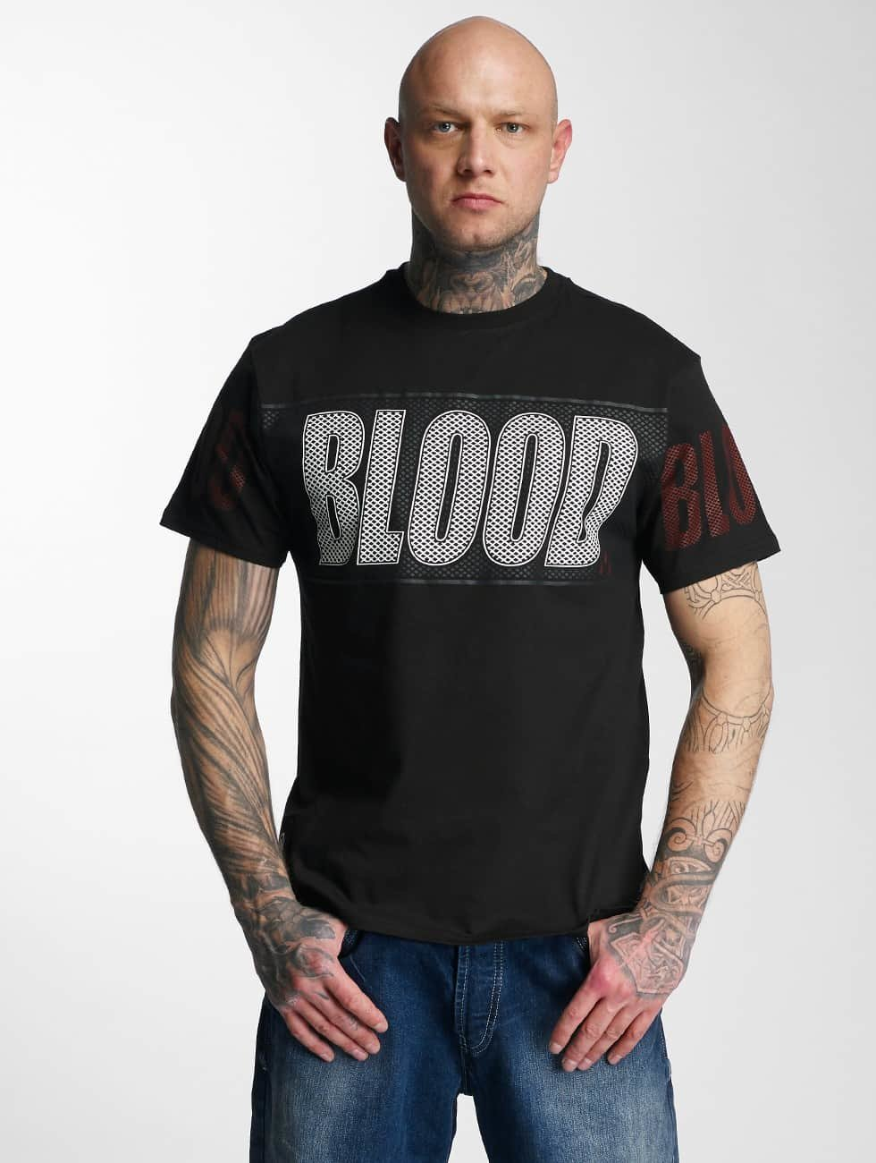 Blood In Blood Out T-skjorter Out Clean Logo svart