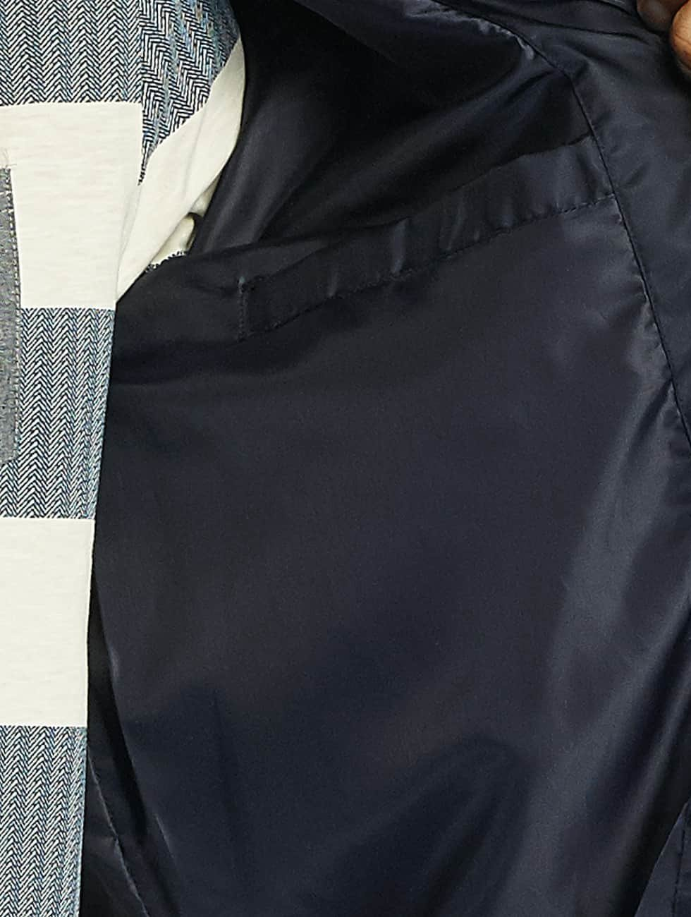 Brave Soul Bomberová bunda Nylon Short modrá