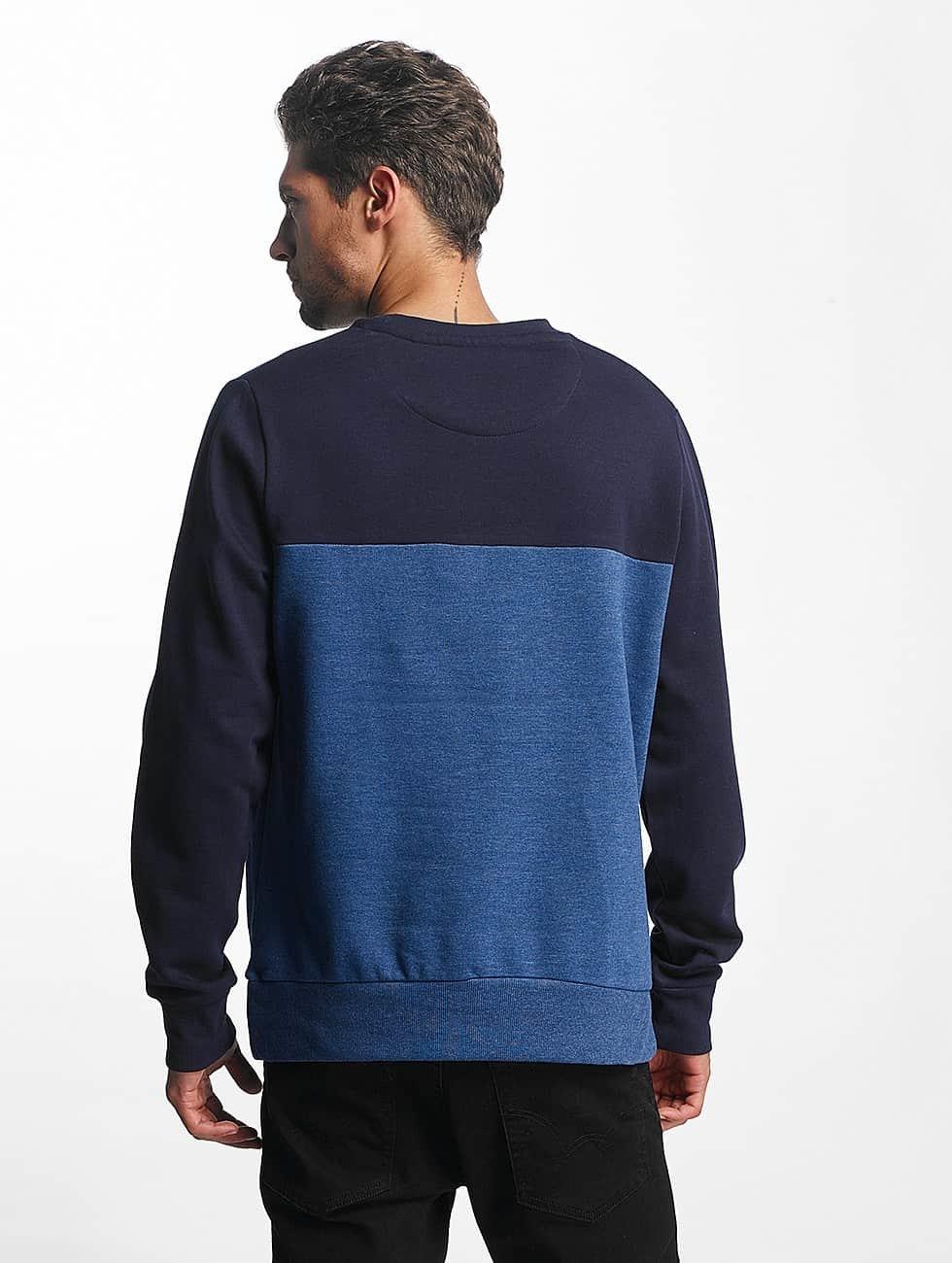 Brave Soul Swetry Vinnie niebieski