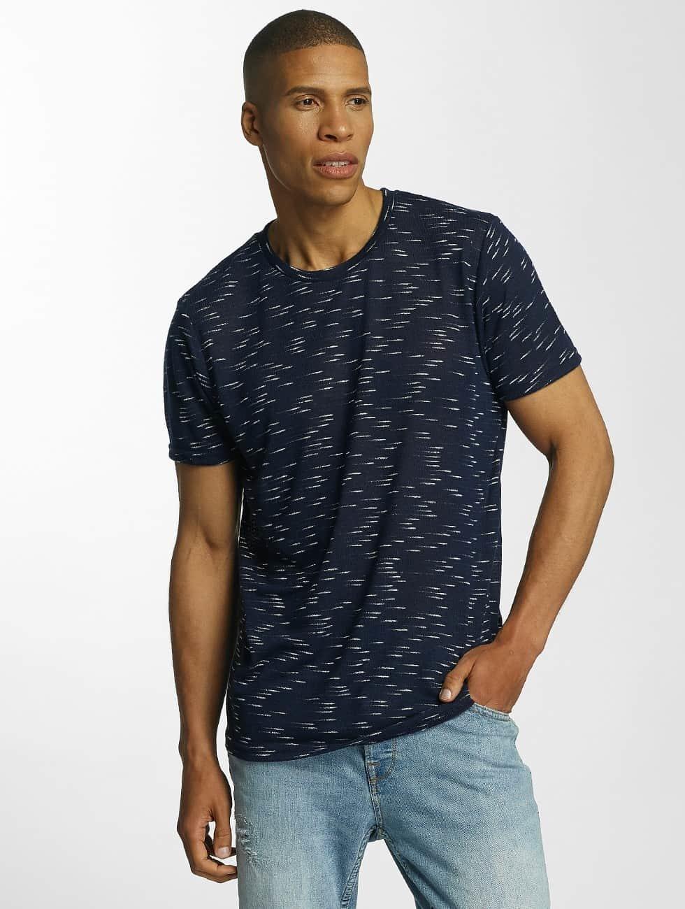 Brave Soul T-Shirt All Over blau