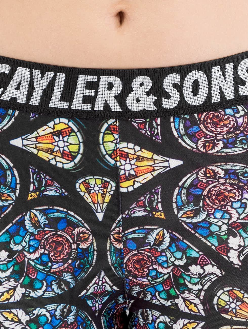 Cayler & Sons Leggingsit/Treggingsit SL Gaudi kirjava