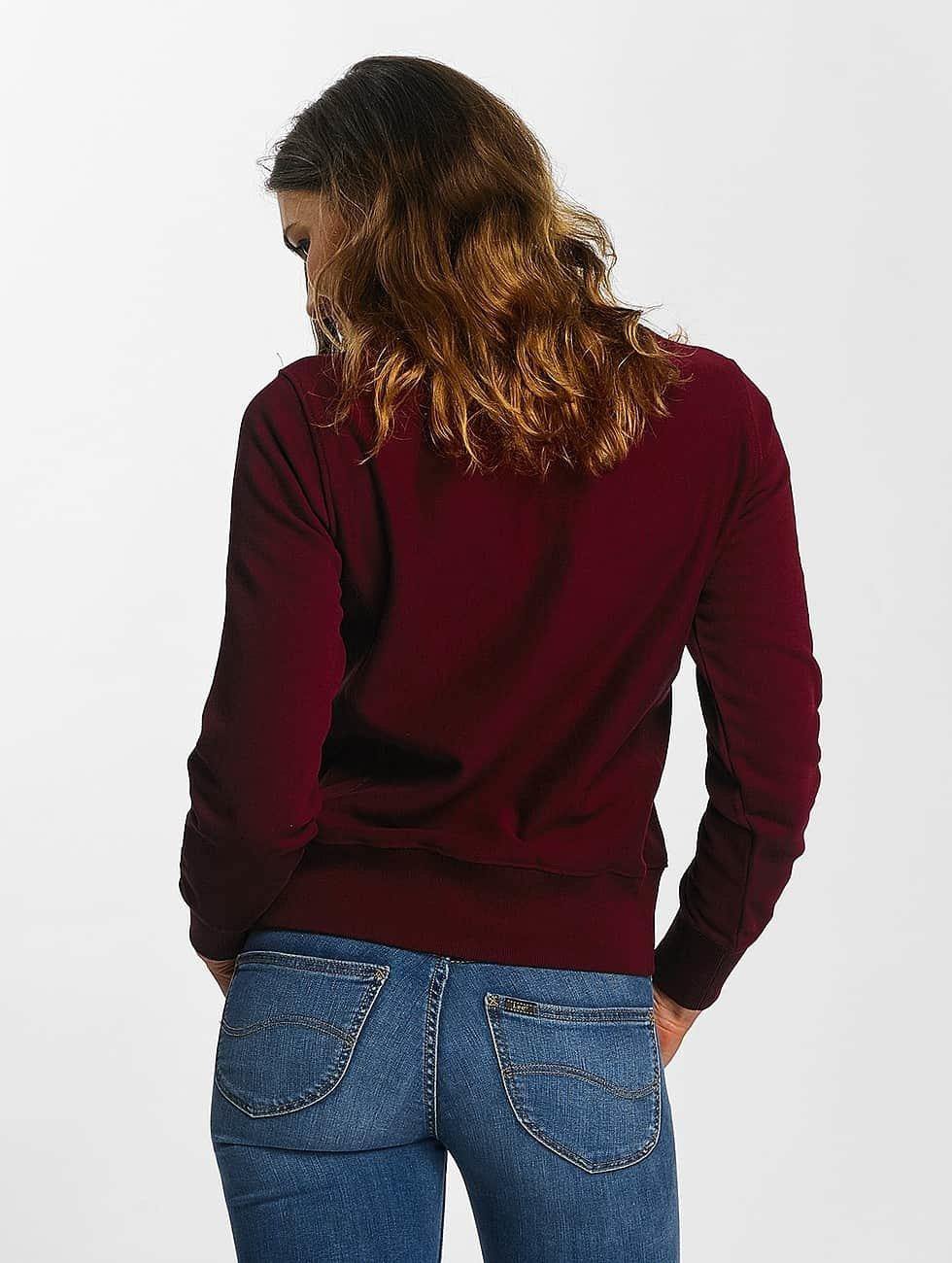 Champion Pullover Basic rot