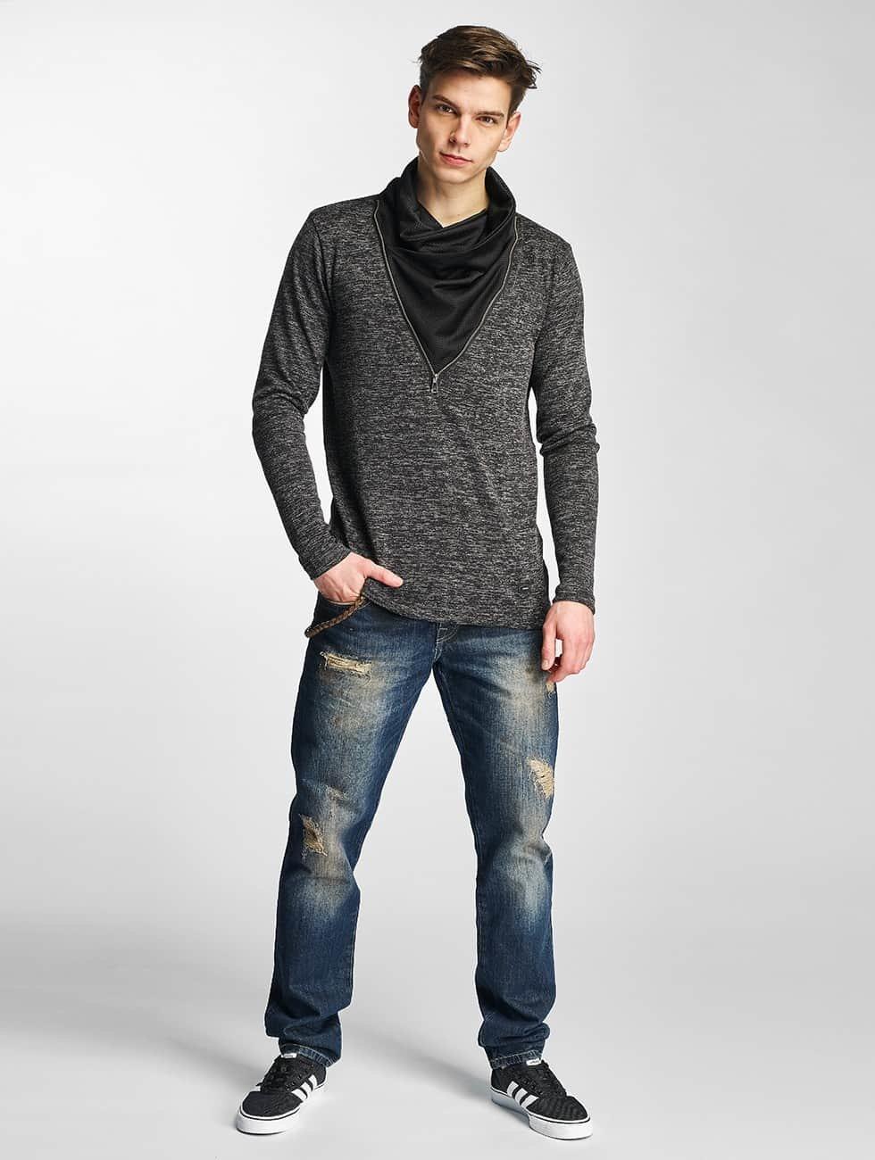 Cipo & Baxx Pullover Damba black