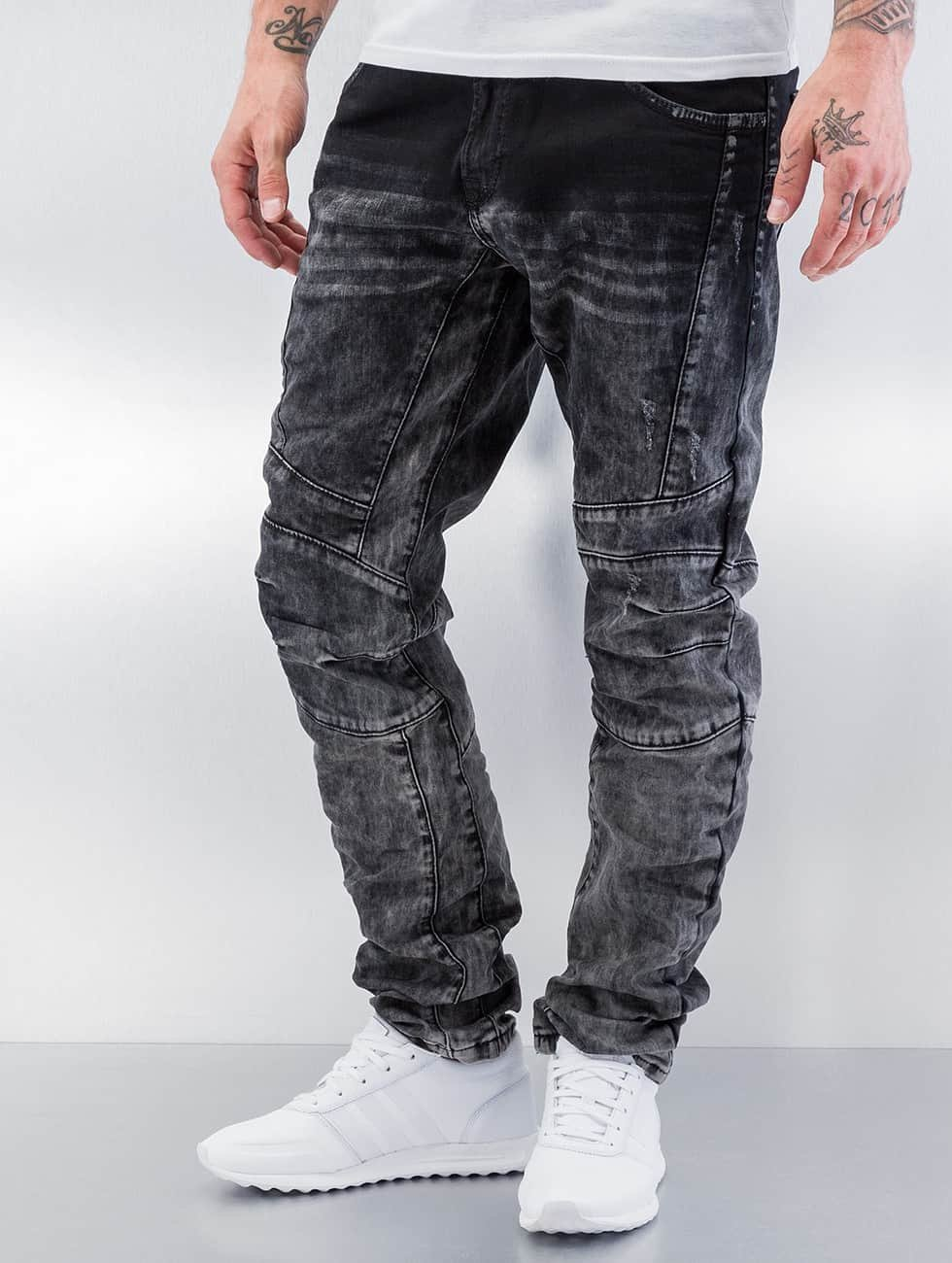 Cipo & Baxx Skinny jeans Washed grijs