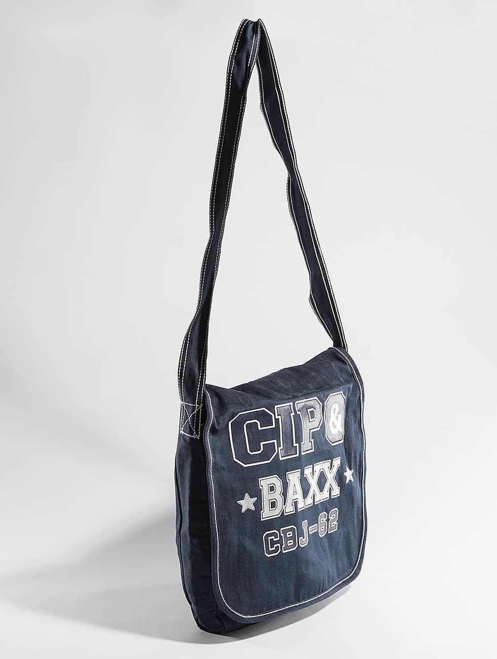 Cipo & Baxx tas Denim blauw
