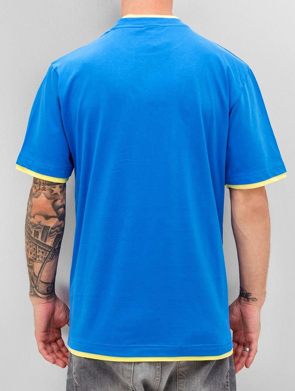 Dangerous DNGRS T-Shirt Two Tone Regular blau