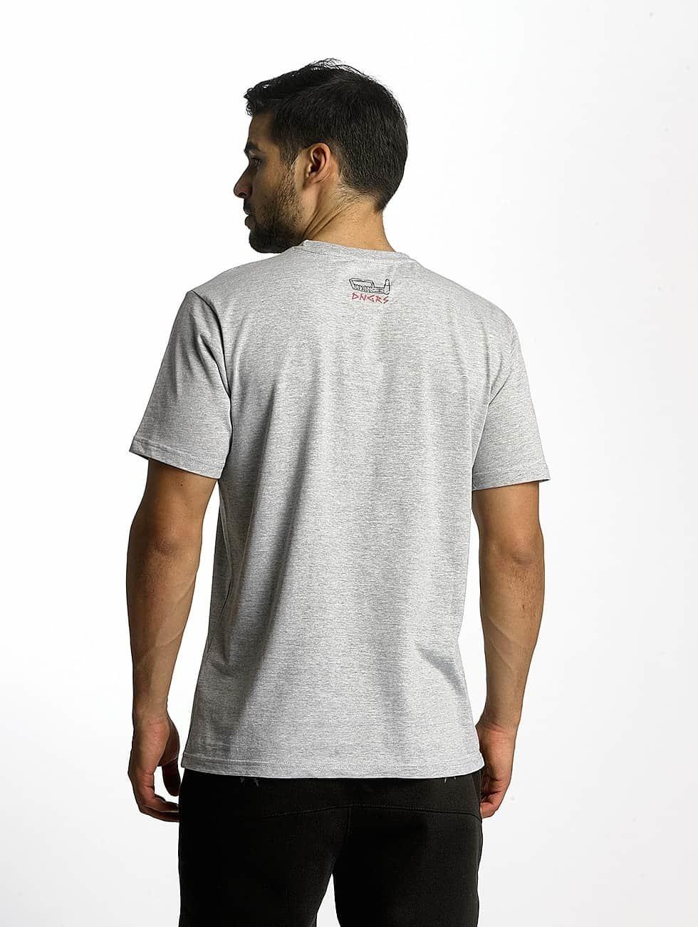 Dangerous DNGRS t-shirt Boxing grijs