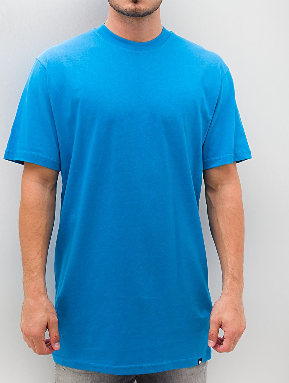 Dangerous DNGRS Tall Tees Blank blauw