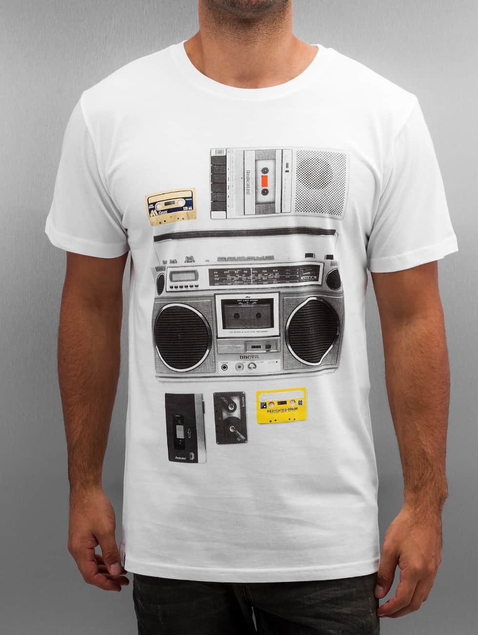 DEDICATED t-shirt Casette Playa wit