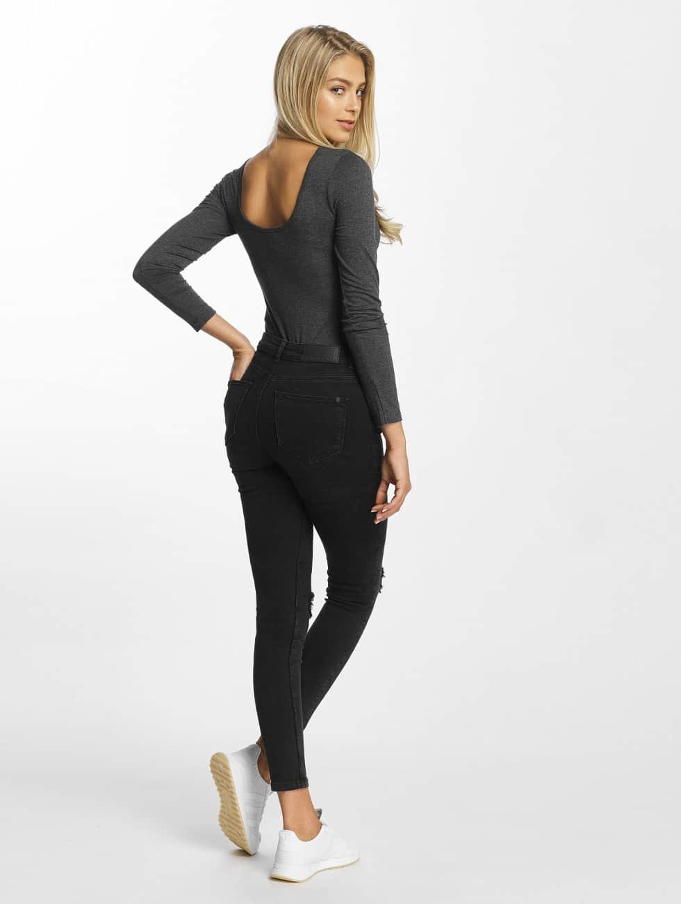 DEF Body Long Sleeve grau
