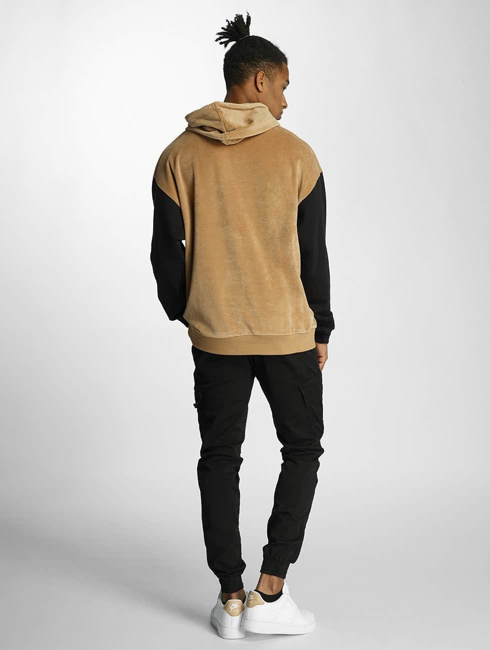 DEF Hoodies Softy beige