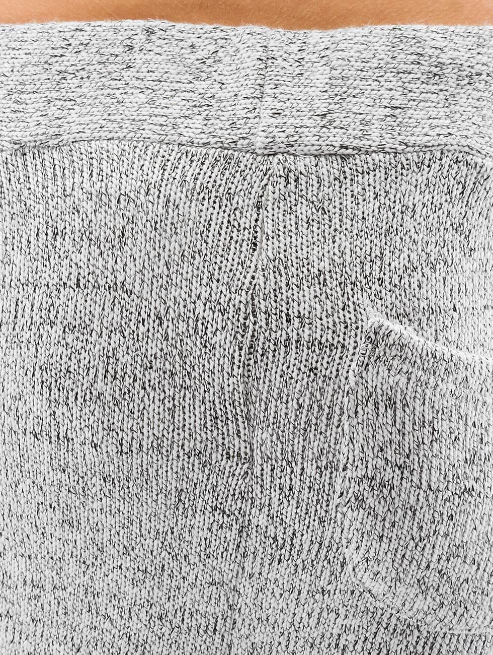 DEF Jogginghose Knit grau