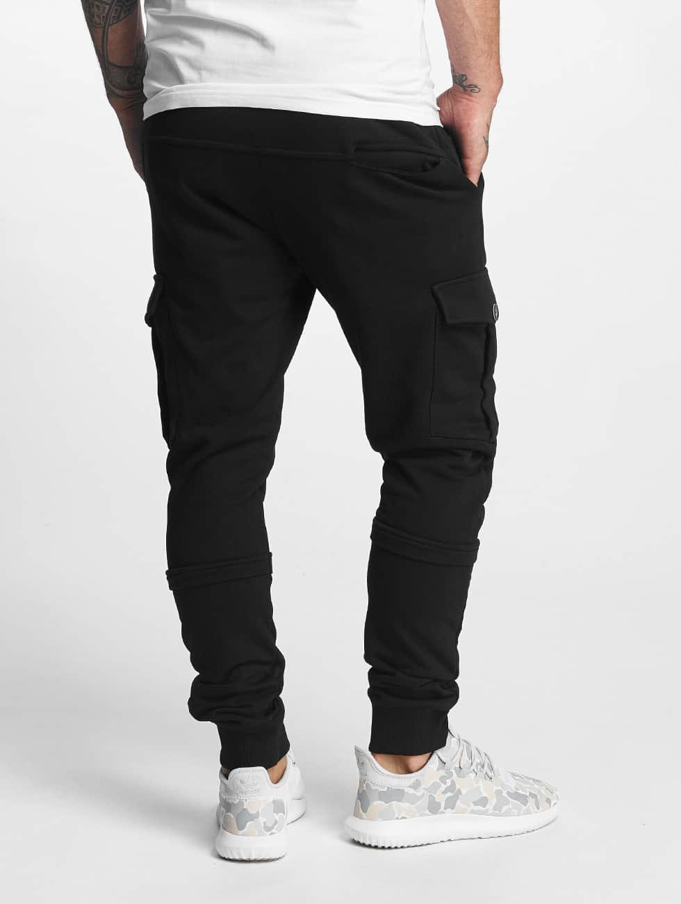 DEF Spodnie do joggingu Soft Cargo czarny
