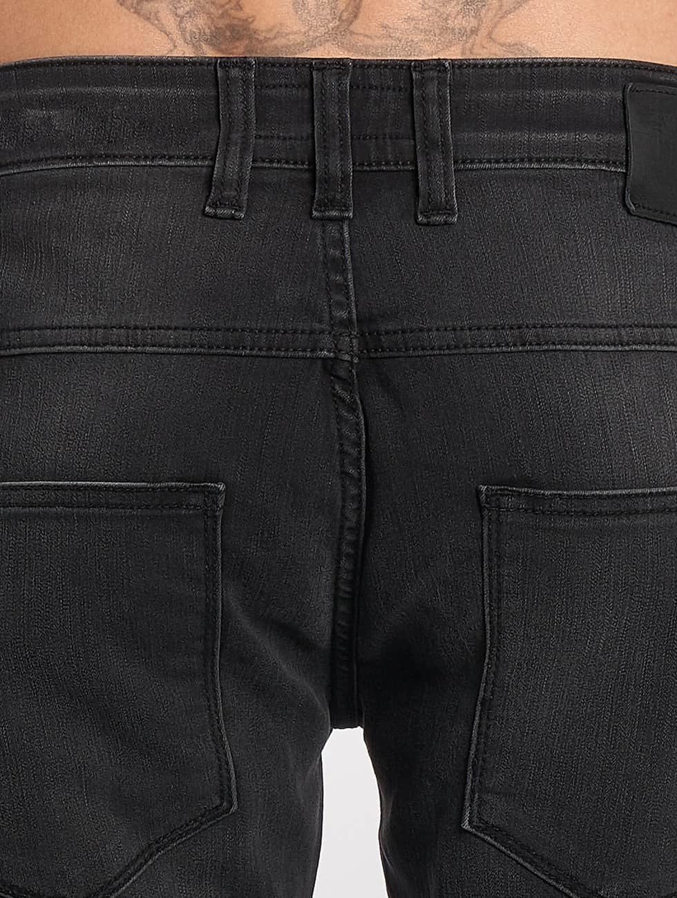 DEF Straight Fit Jeans London grau