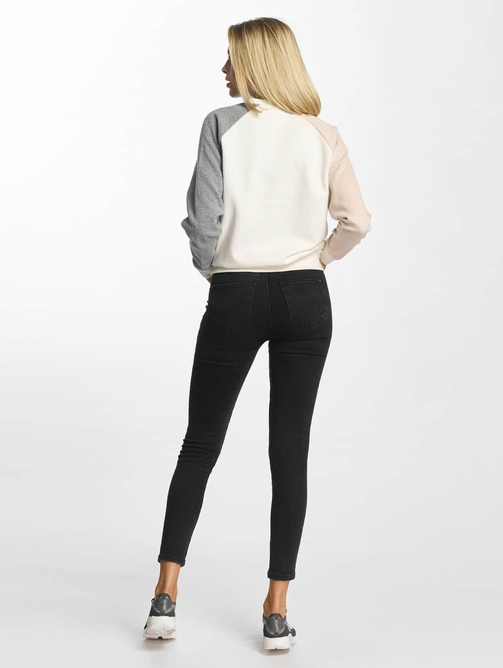 DEF Sweat & Pull Colorblocking blanc