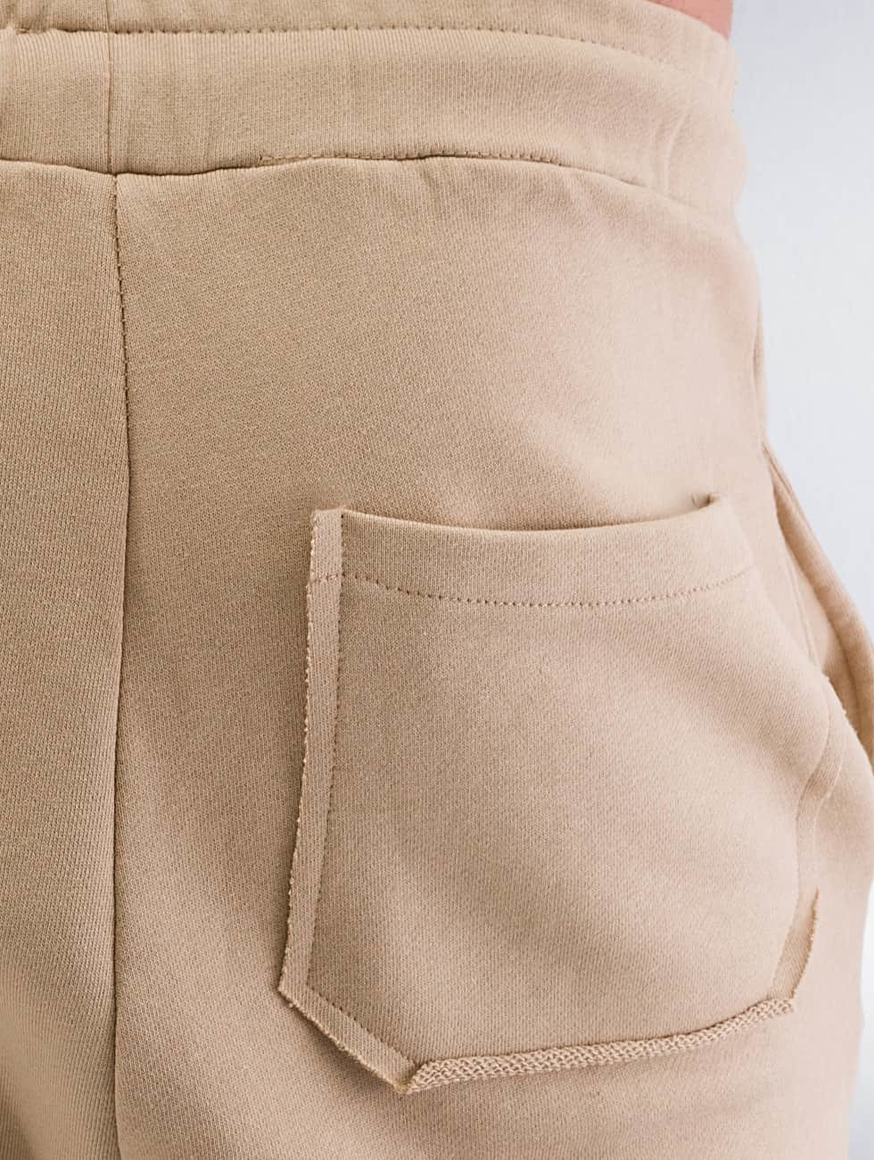 DEF Sweat Pant Destroyed beige