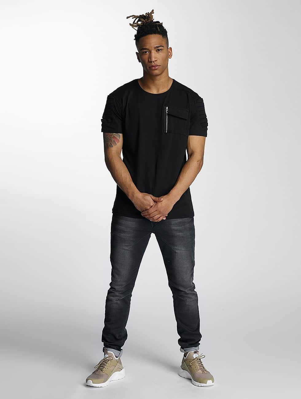 DEF T-Shirt Leats schwarz