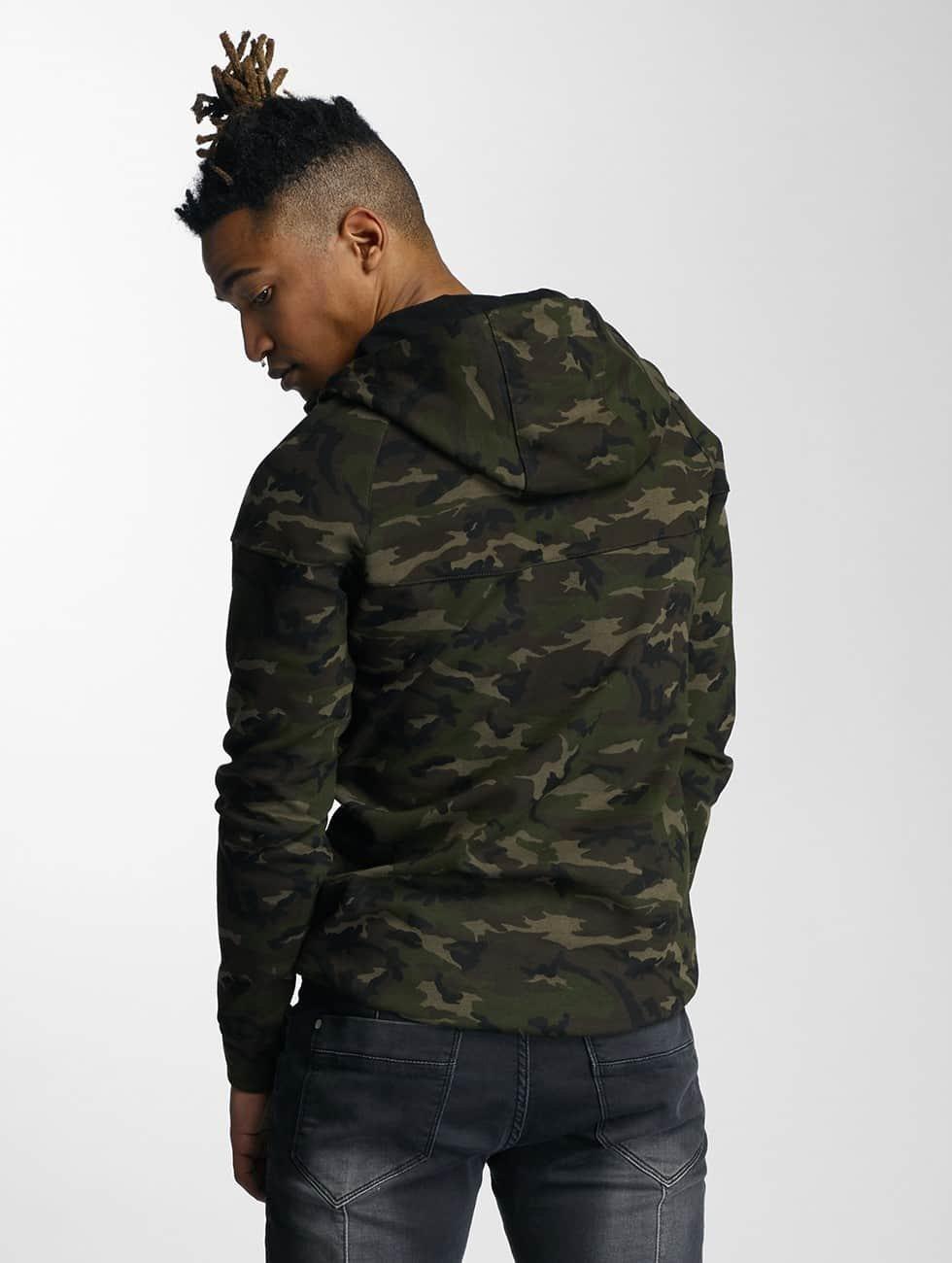 DEF Zip Hoodie Camo camouflage