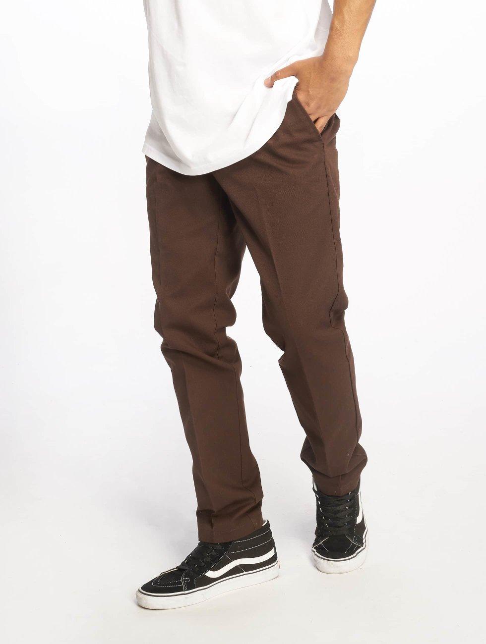 Dickies Чинос Slim Fit Work коричневый