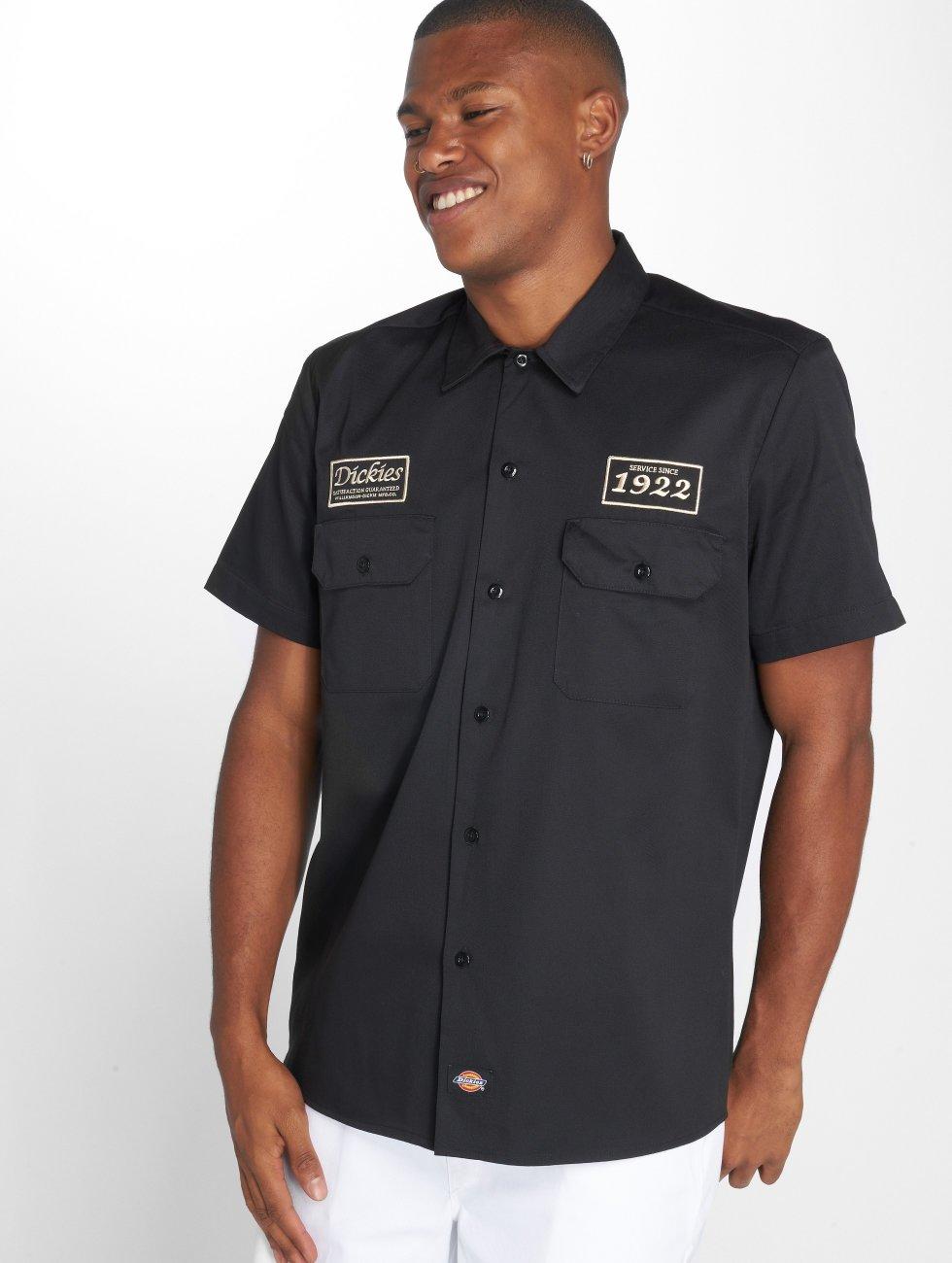 Dickies Shirt North Irwin black