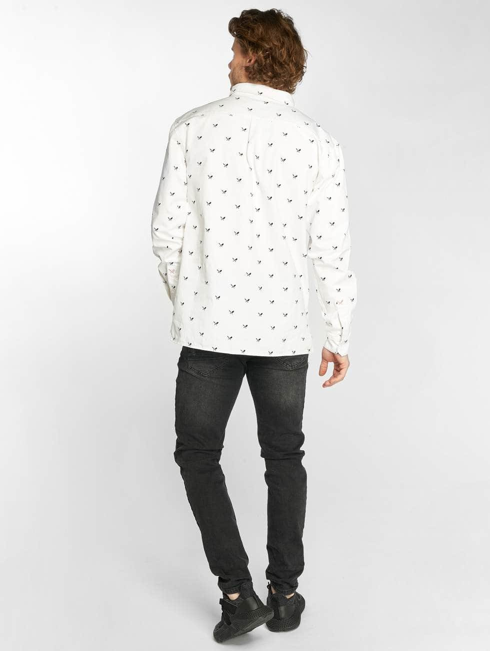 Distorted People Shirt People Allover Blades white