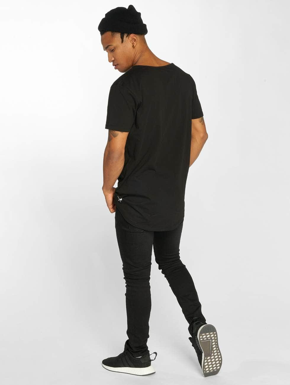 Distorted People T-Shirt Cutted noir