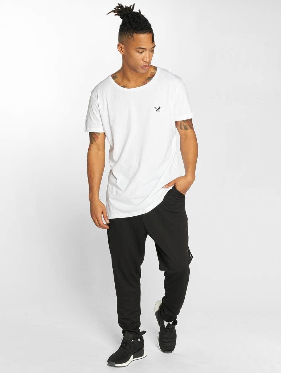 Distorted People T-shirt Grand vit