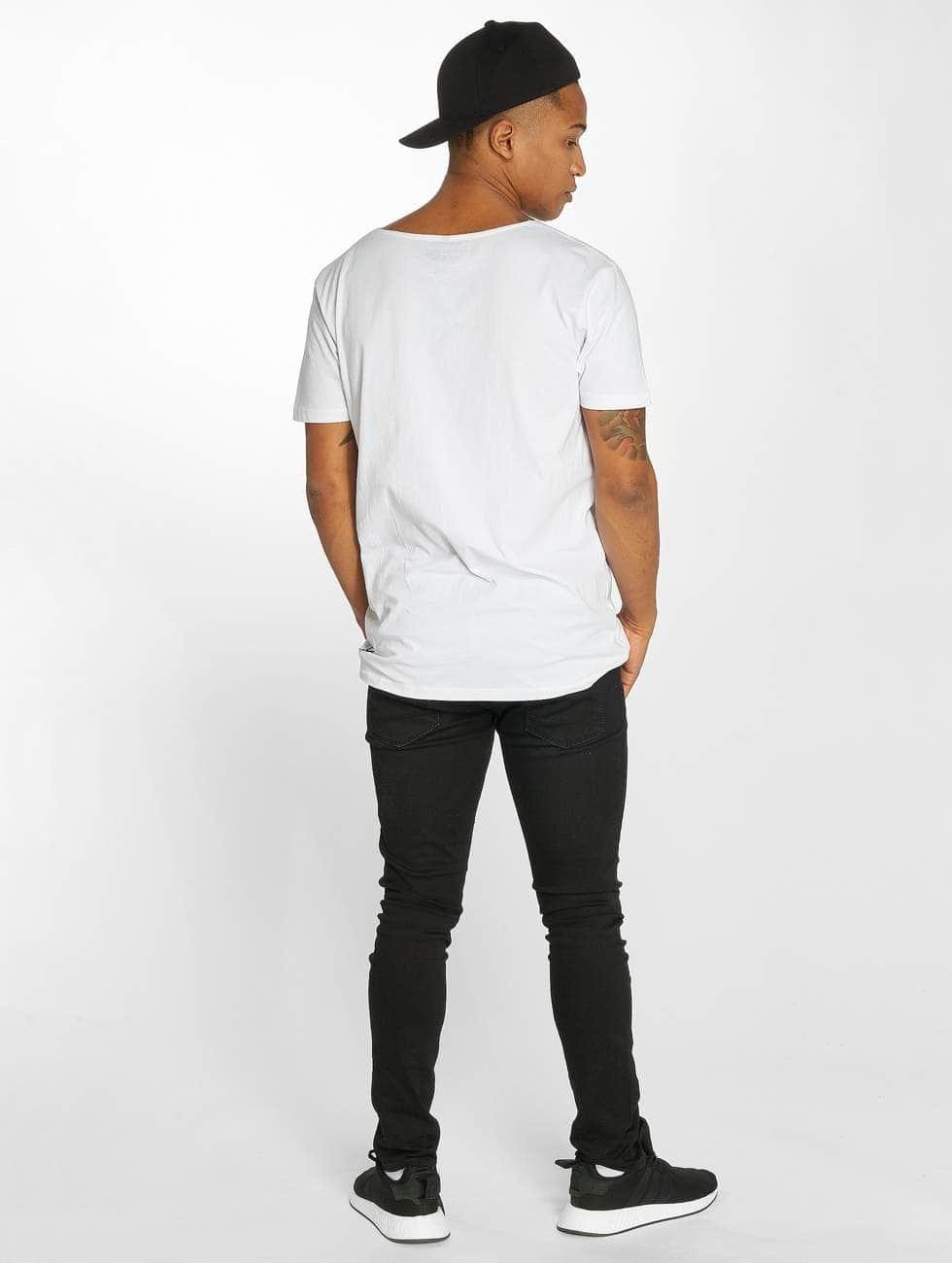 Distorted People T-Shirt Barber & Butcher weiß