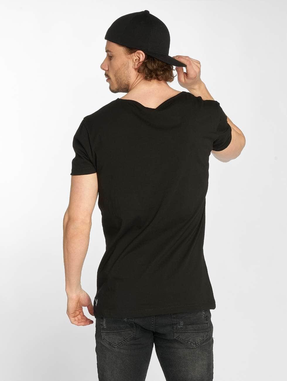 Distorted People t-shirt BB Blades Camo zwart