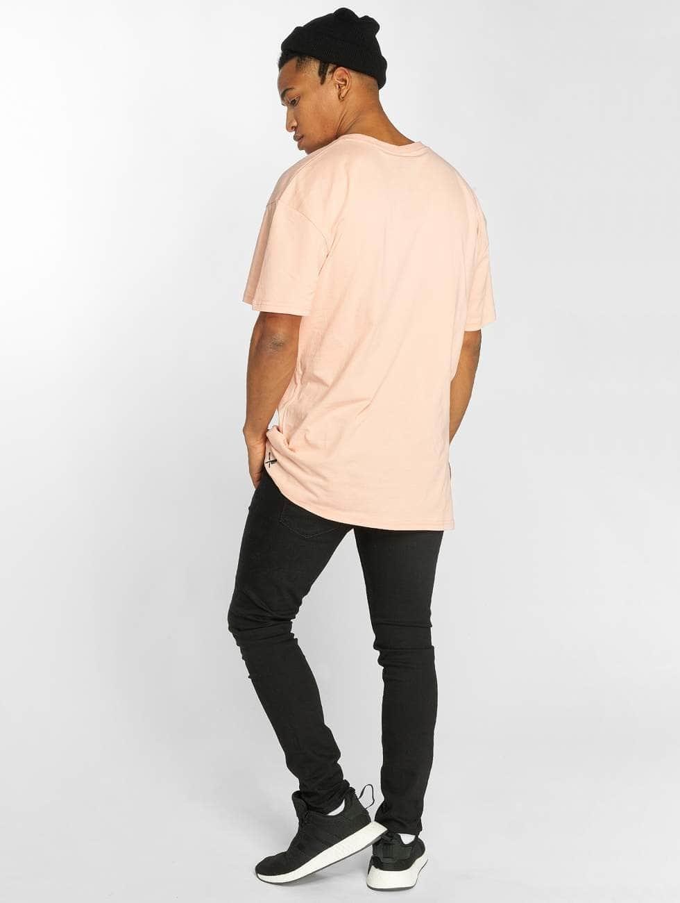 Distorted People T-skjorter People Exile rosa