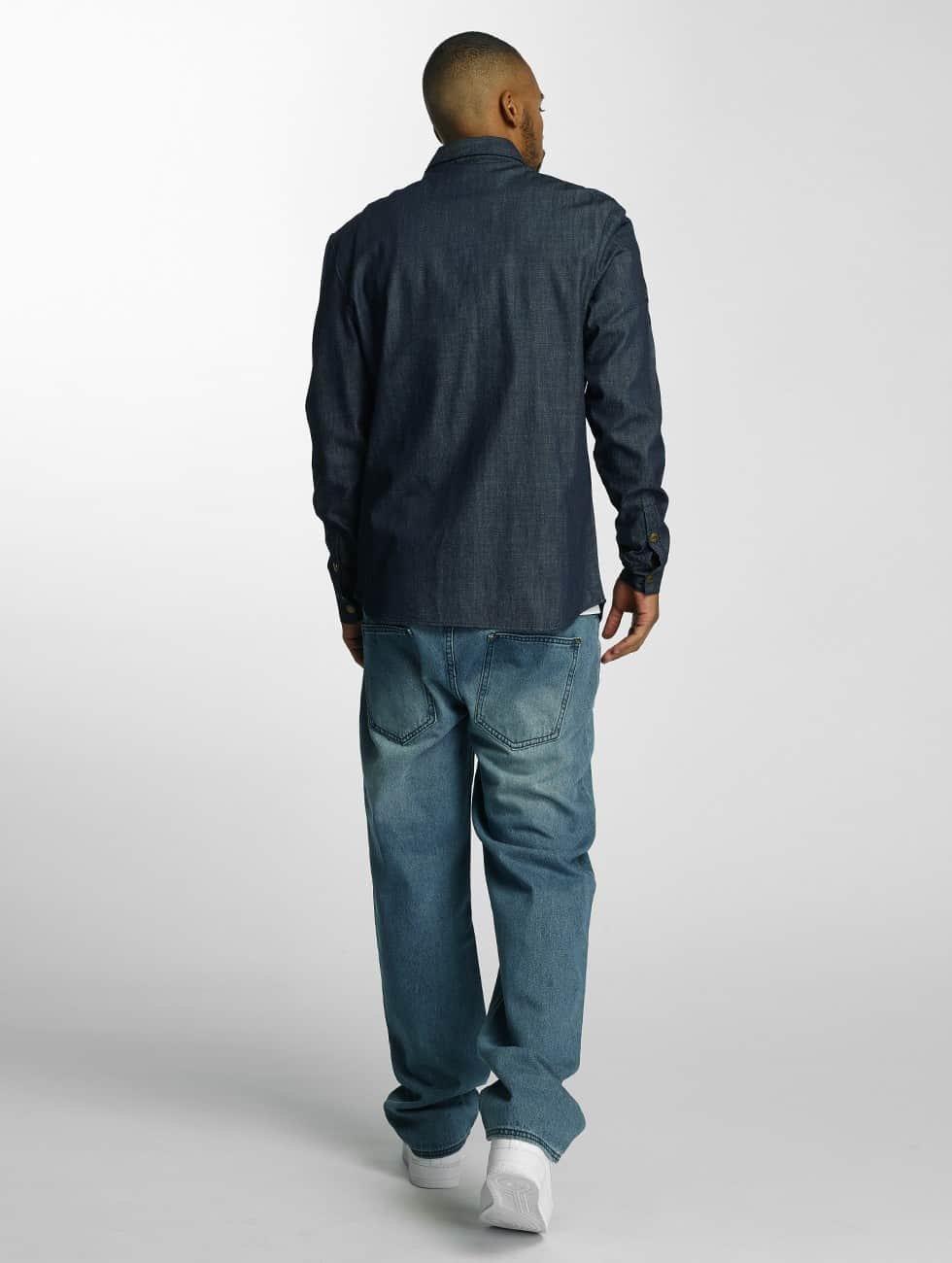 Ecko Unltd. Koszule Jeans indygo
