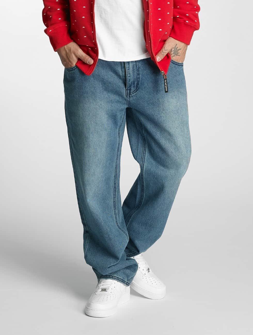 Ecko Unltd. Loose Fit Jeans Kashyyyk niebieski