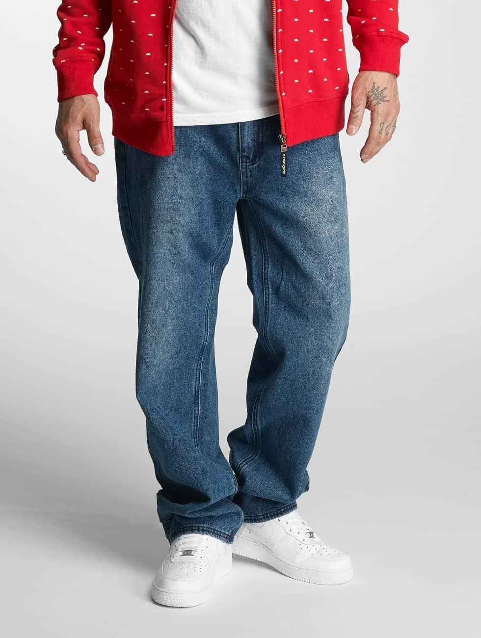 Ecko Unltd. Straight Fit Jeans Illuminati blå