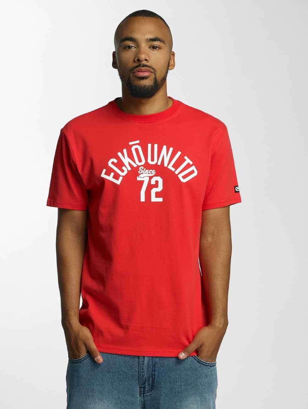 Ecko Unltd. t-shirt Bobby Basic rood