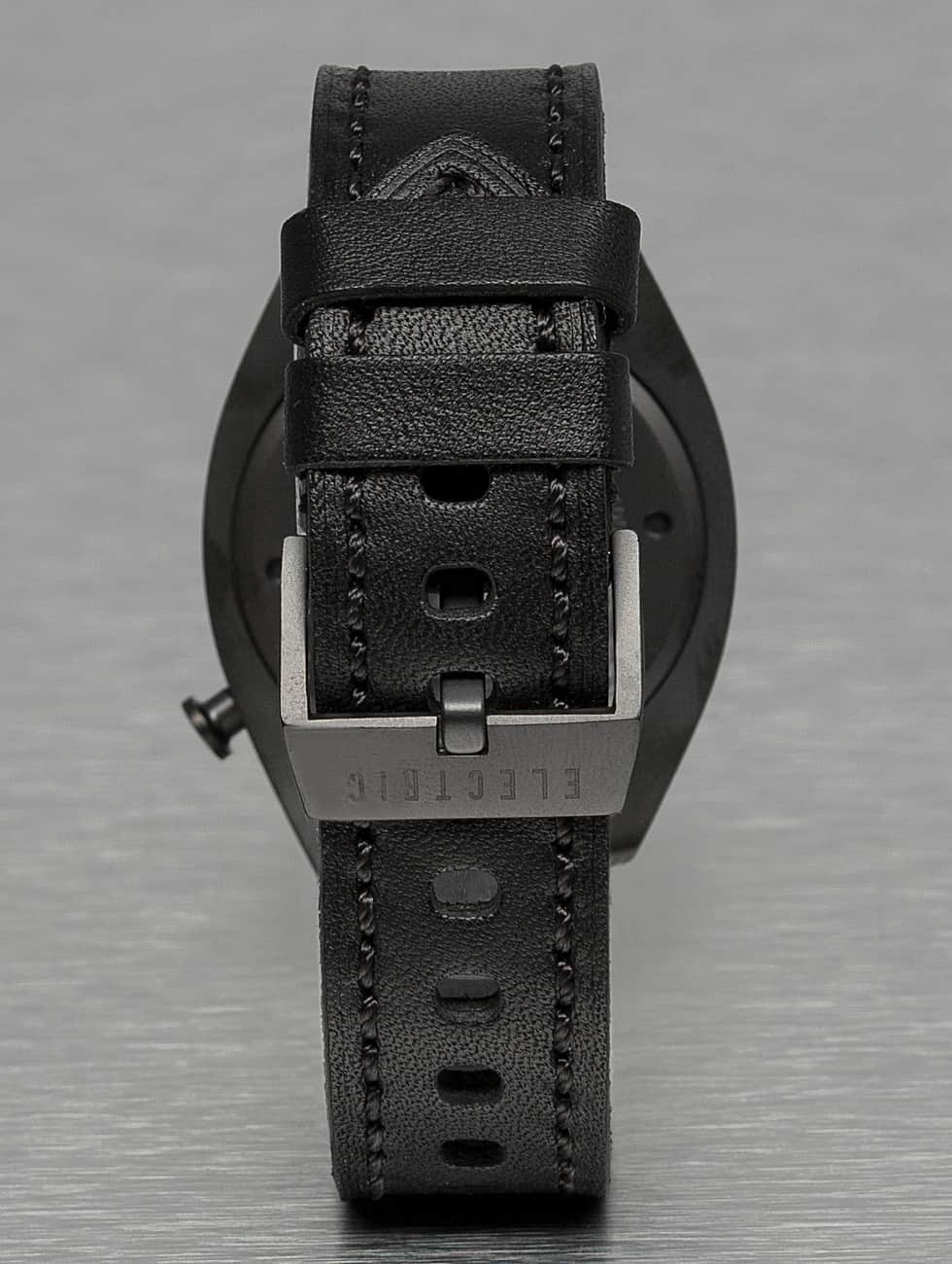 Electric Часы OW01 Leather черный