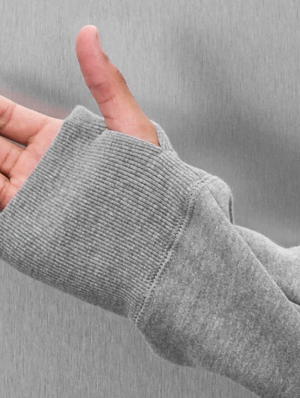 Electric Sweat capuche zippé VOLT gris