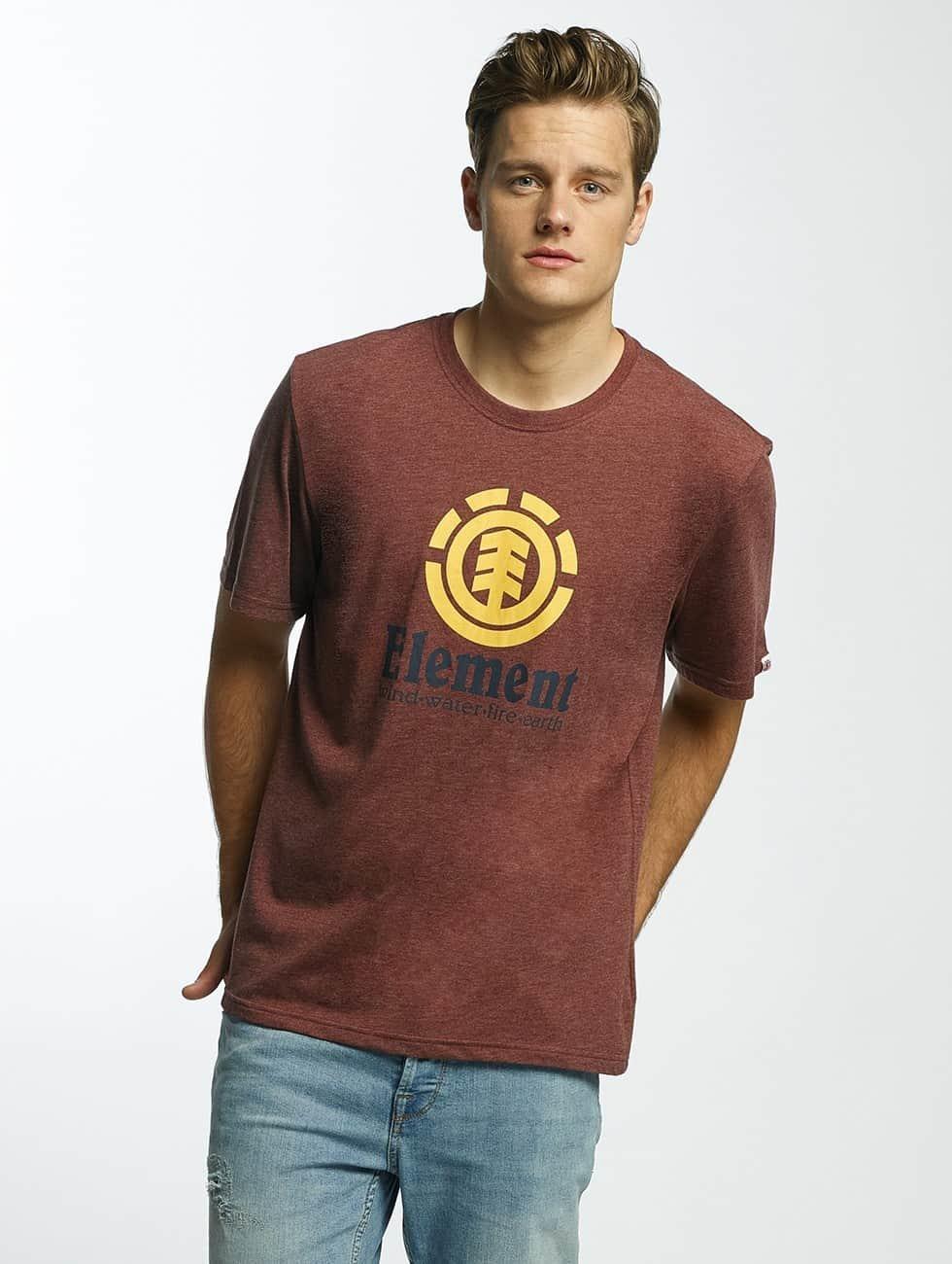 Element T-Shirt Vertical red