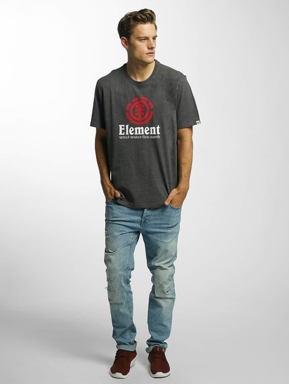 Element T-Shirty Vertical szary