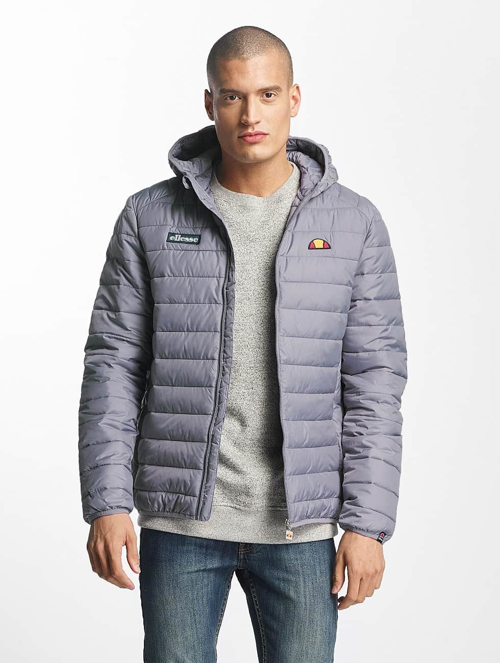 Ellesse Puffer Jacket Lombardy Padded grey