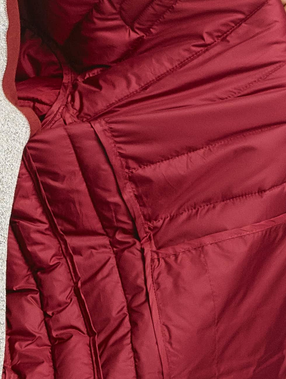 Ellesse Puffer Jacket Lombardy Padded red