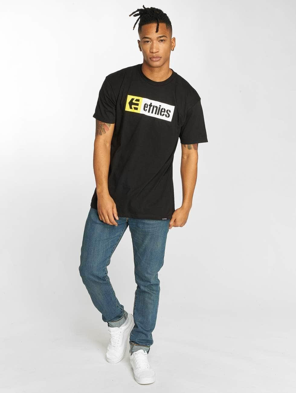 Etnies T-Shirt New Box black