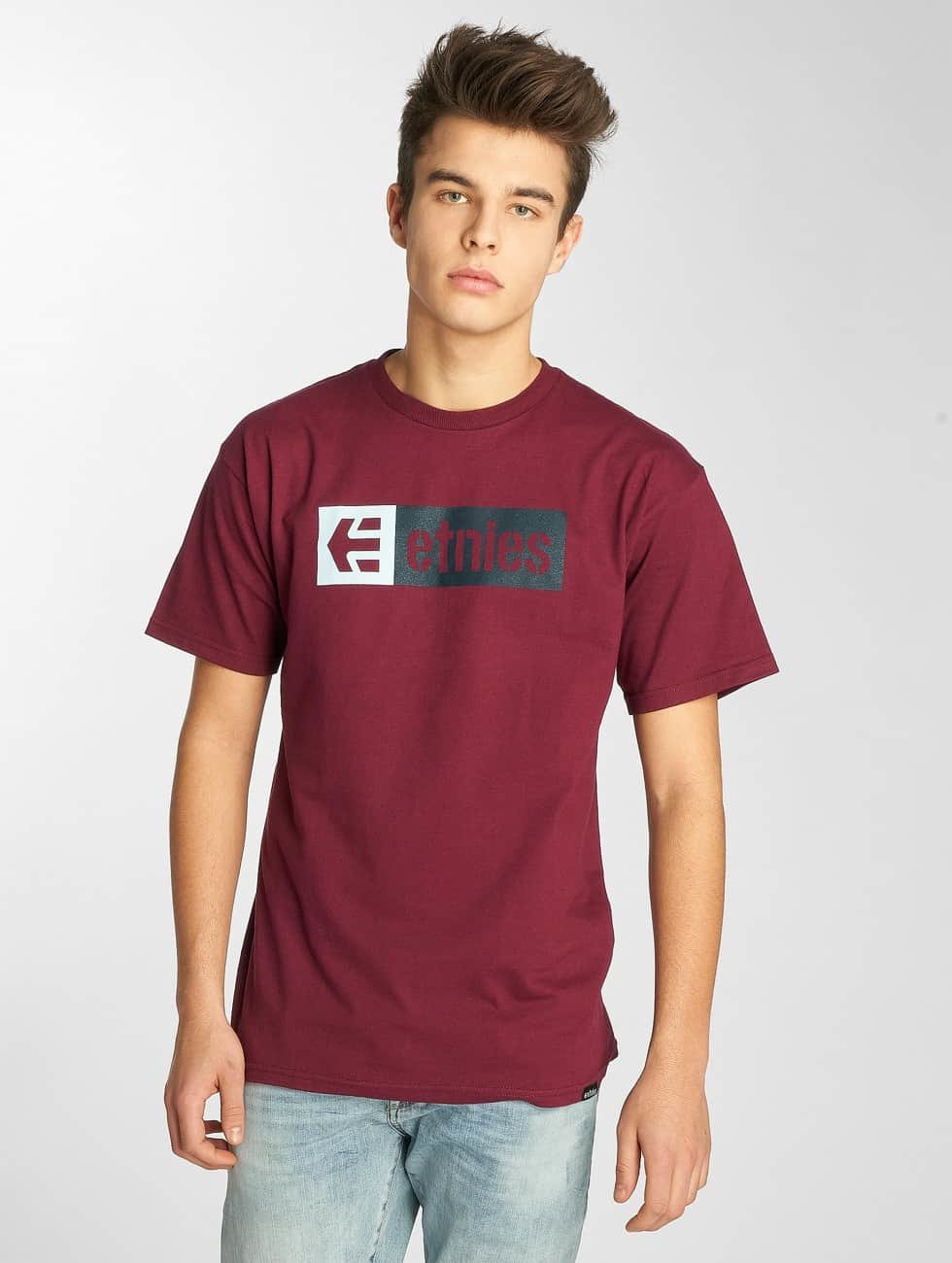 Etnies T-Shirt New Box rouge