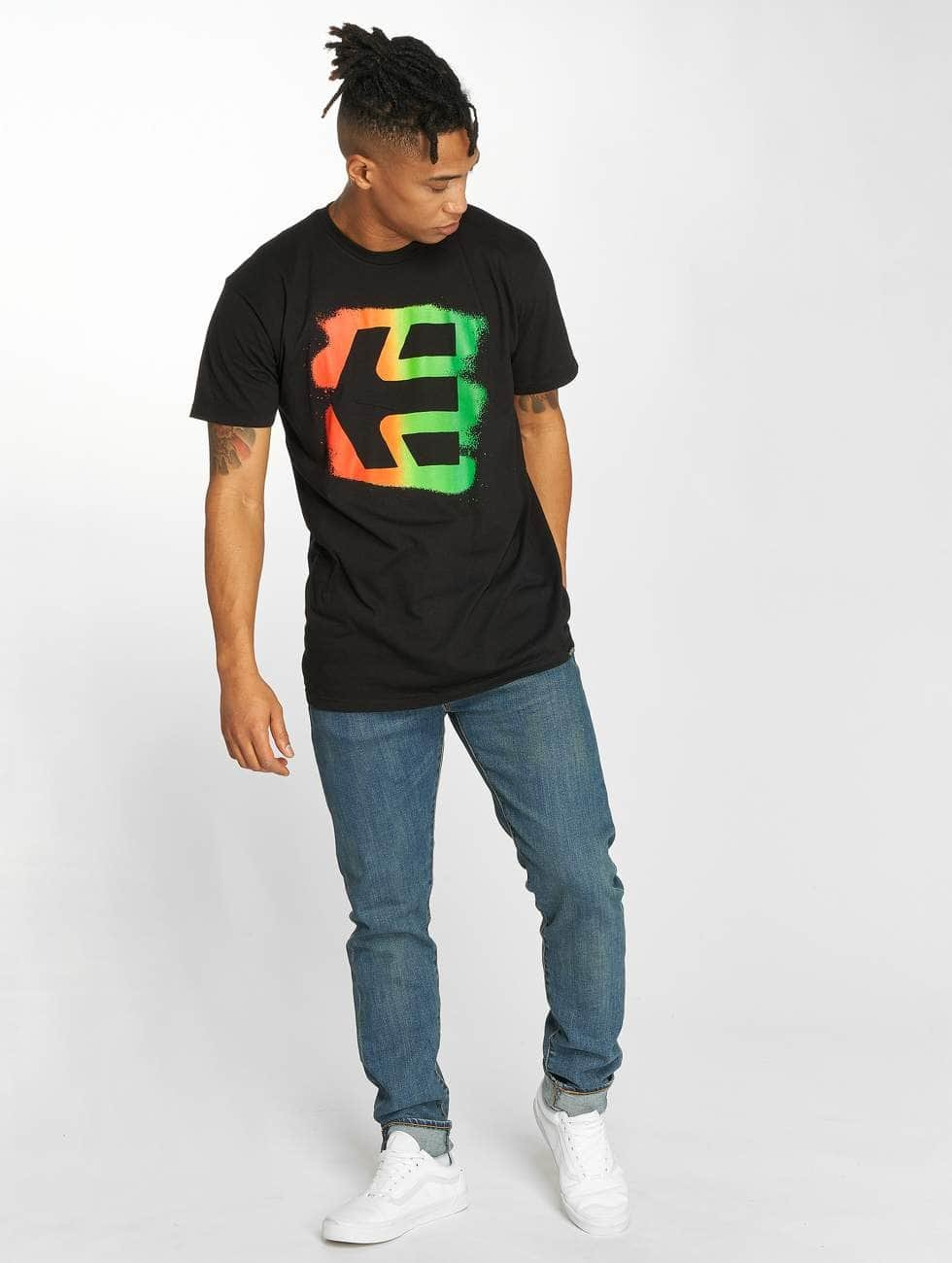 Etnies T-Shirt Icon Sprayed schwarz