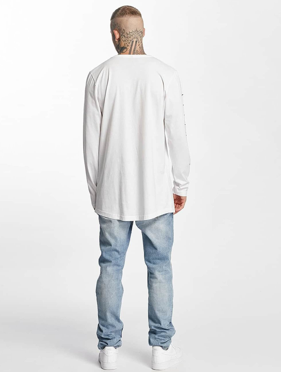 Famous Stars and Straps Camiseta de manga larga God Cant Save blanco