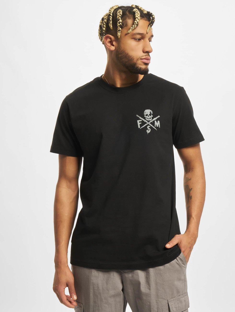 Famous Stars and Straps T-Shirt Stick It noir