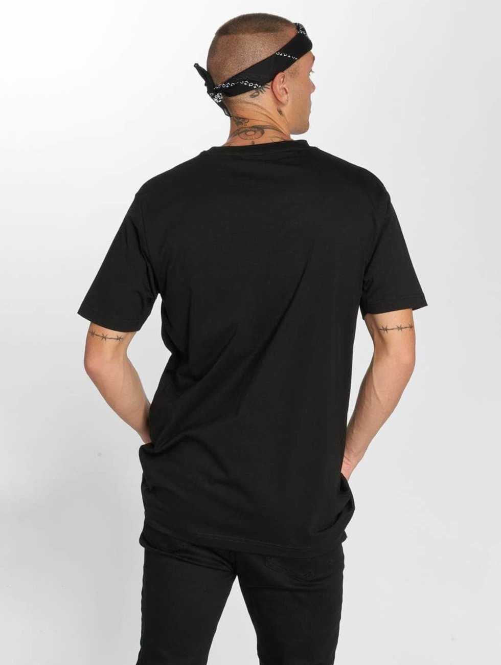 Famous Stars and Straps T-Shirt Flag noir